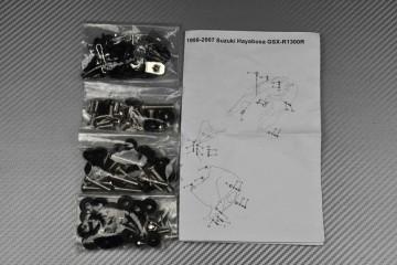 Kit Visserie Carénages Complets Suzuki GSXR Hayabusa 1300 1999 - 2007