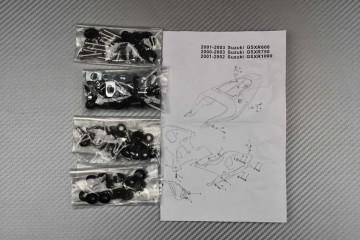 Kit Visserie Carénages Complets Suzuki GSXR 600 750 1000 2000 - 2003 K1 K3