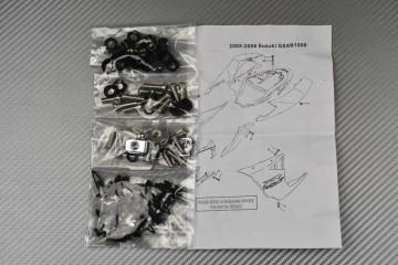 Complete Fairings Fastening Hardware Set Suzuki GSX-R 1000 2005 - 2006 K5 K6