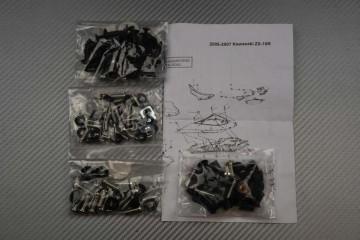 Complete Fairings Fastening Hardware Set Kawasaki ZX10R 2006 - 2007