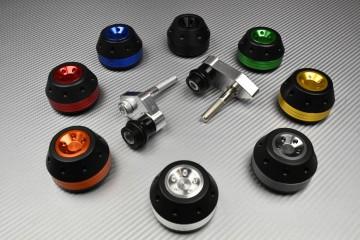 Tampons / Roulettes de protection Suzuki GSXS1000 2015 - 2019