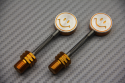 Colored Smiley Decorative Screw