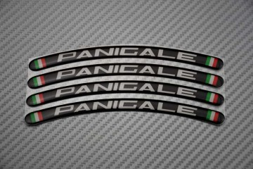 Rim Edge Stickers PANIGALE Logo