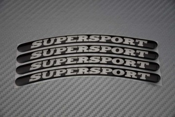 Stickers bord de jantes - Logo SUPERSPORT