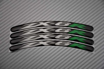Rim Edge Stickers ZX6R Logo