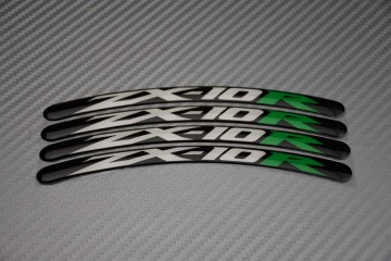 Rim Edge Stickers ZX10R Logo