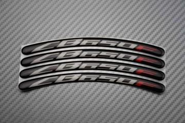 Motorrad Felgenrandaufkleber - Logo CB 650F