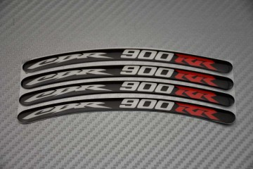Rim Edge Stickers  CBR 900 RR Logo