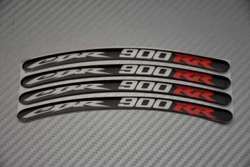 Stickers para borde de llantas - Logotipo CBR 900 RR