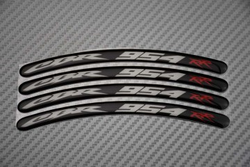 Rim Edge Stickers CBR 954 Logo