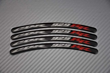 Rim Edge Stickers CBR 929 Logo