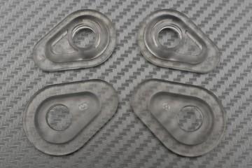 Obturateurs de clignotants transparents - nouvelles Yamaha