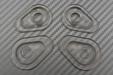 Transparent Turn Signal Spacers Adapters - New Yamaha