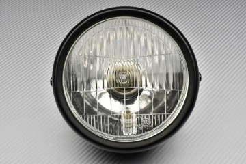 Adaptable Round Headlight with Bulbs