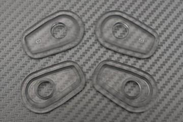 Transparent Turn Signal Spacers Adapters Kawasaki