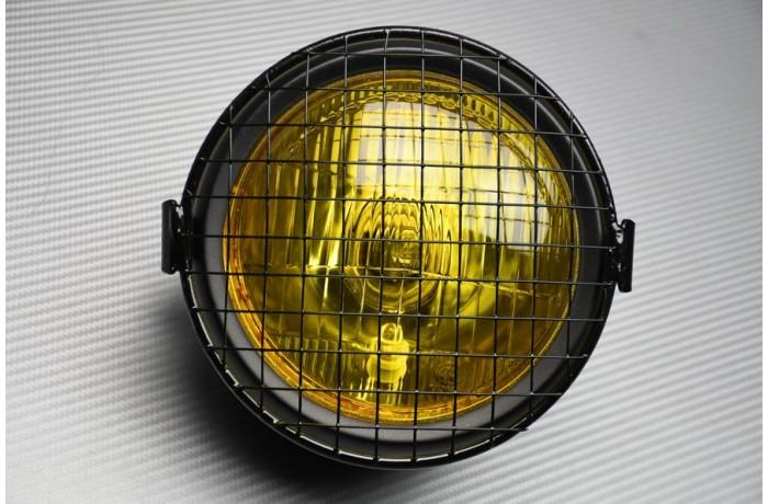 Optique / Phare rond à ampoule