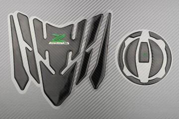Kit protections réservoir et trappe à essence pour Kawasaki Z650