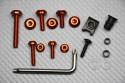 Eloxierter Aluminium Torx-Schrauben-Set Universell