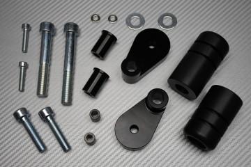 Tampons / Roulettes de Protection en Téflon pour Honda CBR 1000 RR 2006 - 2007