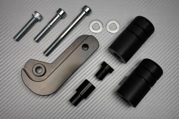 Tampons / Roulettes de Protection en Téflon pour Suzuki GSXR 600 / 750 2006 - 2010