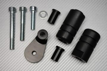 Tampons / Roulettes de Protection en Téflon pour Suzuki GSXR 1000 2001 - 2002 / GSXR 600 750 2000 - 2003