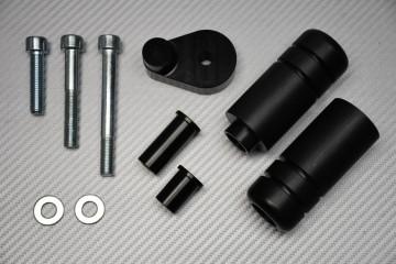 Tampons / Roulettes de Protection en Téflon pour Yamaha R6 2008 - 2020