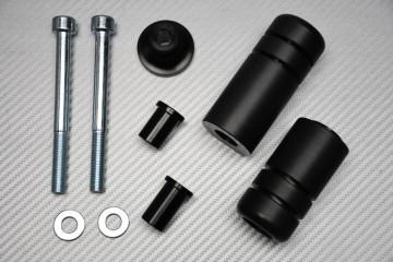 Tampons / Roulettes de Protection en Téflon pour Kawasaki ZX6R / ZX6RR 2005 - 2006
