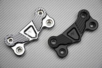Anodized Aluminium Handlebars Riser Top Cover Yamaha FZ8 / Fazer 800 2010 - 2016 /  XJ6 / DIVERSION  09 - 17 / SR 400