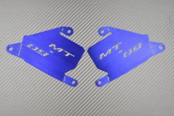 Caches entrées d'air siglés pour Yamaha MT-09 TRACER / TRACER 900