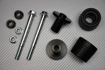 Tampons / Roulettes de Protection en Téflon pour Suzuki GSXR 1000 2005 - 2008
