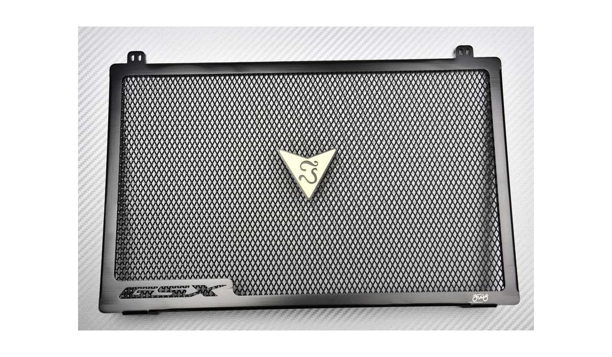 Accessoires noirs Filet de protection pour r/éservoir de carburant Redcolourful Grille de protection pour radiateur de moto Su-zuki GSX-S750 GSXS750 GSXS 750 2015-2018