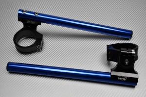 Pareja de semimanillares elevados y reclinables AVDB 45 mm