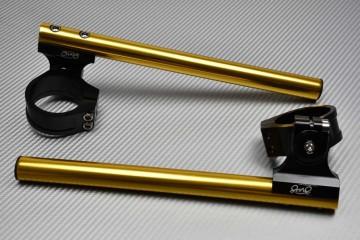 Coppia semimanubri rialzati regolabili  43 mm