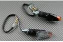 Coppia indicatori di direzione LED Universali con tocco di arancio