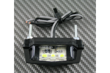 Luz de matrícula 3 LED