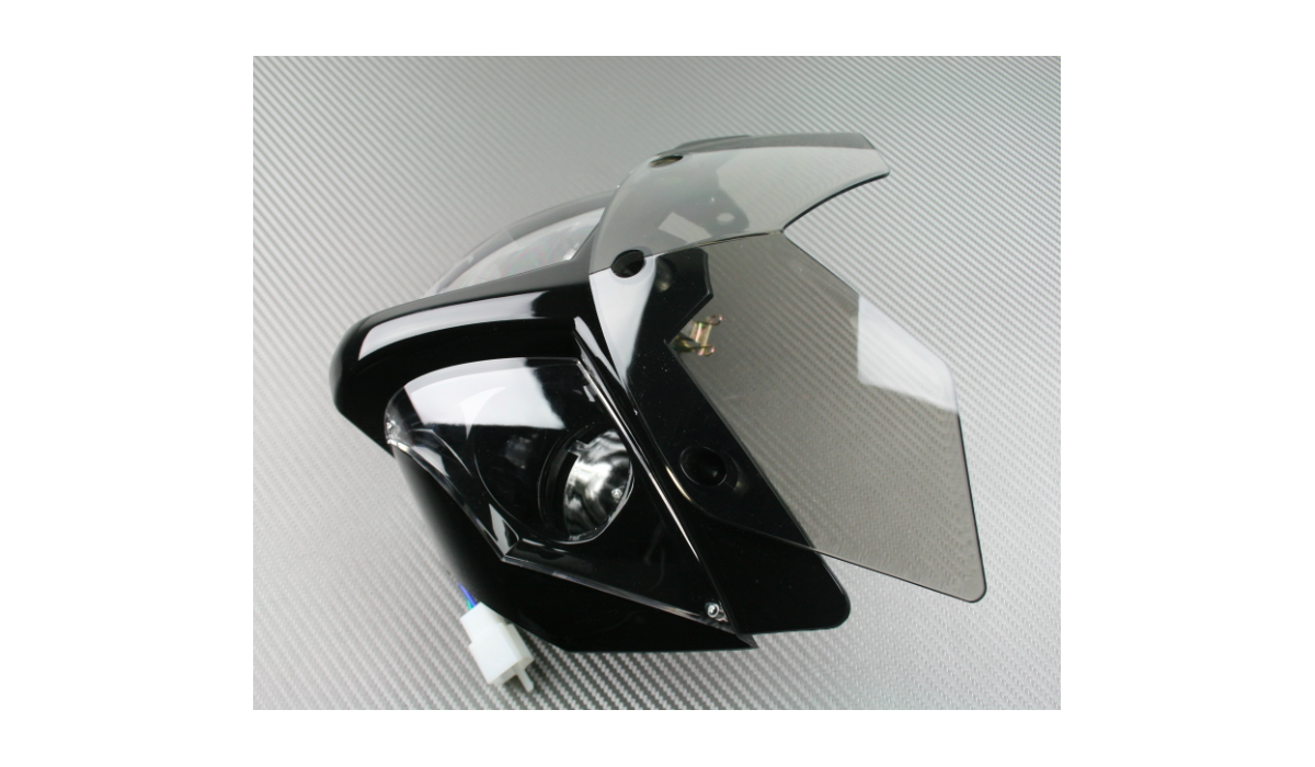 plaque phare street bike avdb moto l 39 accessoire prix motard. Black Bedroom Furniture Sets. Home Design Ideas