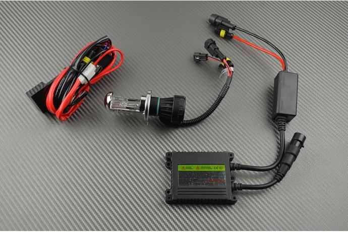 H4 LOW / HIGH BEAM Xenon Lighting Kit - STANDARD