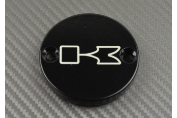 Front Brake Fluid Reservoir Cap with 2 Fastening Holes for many KAWASAKI