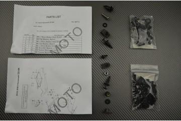 Complete Fairings Fastening Hardware Set Kawasaki ZX9R 2000 / 2003