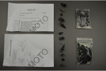 Kit Visserie Carénages Complets Kawasaki ZX9R 2000 / 2003