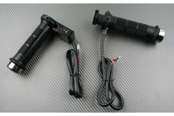Pair of grips heated universal