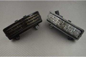 Fanale posteriore indicatori di direzione integrato per Tribar Harley Davidson Street Glide