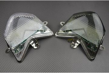 Feu Stop Led Clignotants Intégrés Kawasaki ZX10R 2004 / 2005 et quad KFX 450