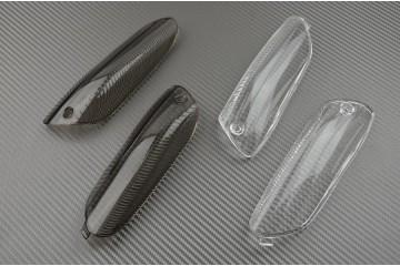 Paire de caches clignotants arrière Aprilia RSV 1000 2005 / 2011
