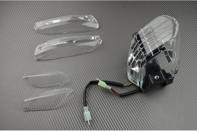 Pack LED Bremslicht + Blinkerabdeckungen vorn und hinten für APRILIA RSV 1000
