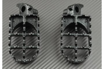 Paire de Repose-pieds / Cross CR 125 250 500 et YZ 125 250 WR400