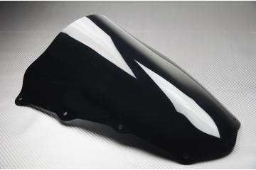 Black PVC Windscreen Aprilia RSV 1000 2004 - 2008
