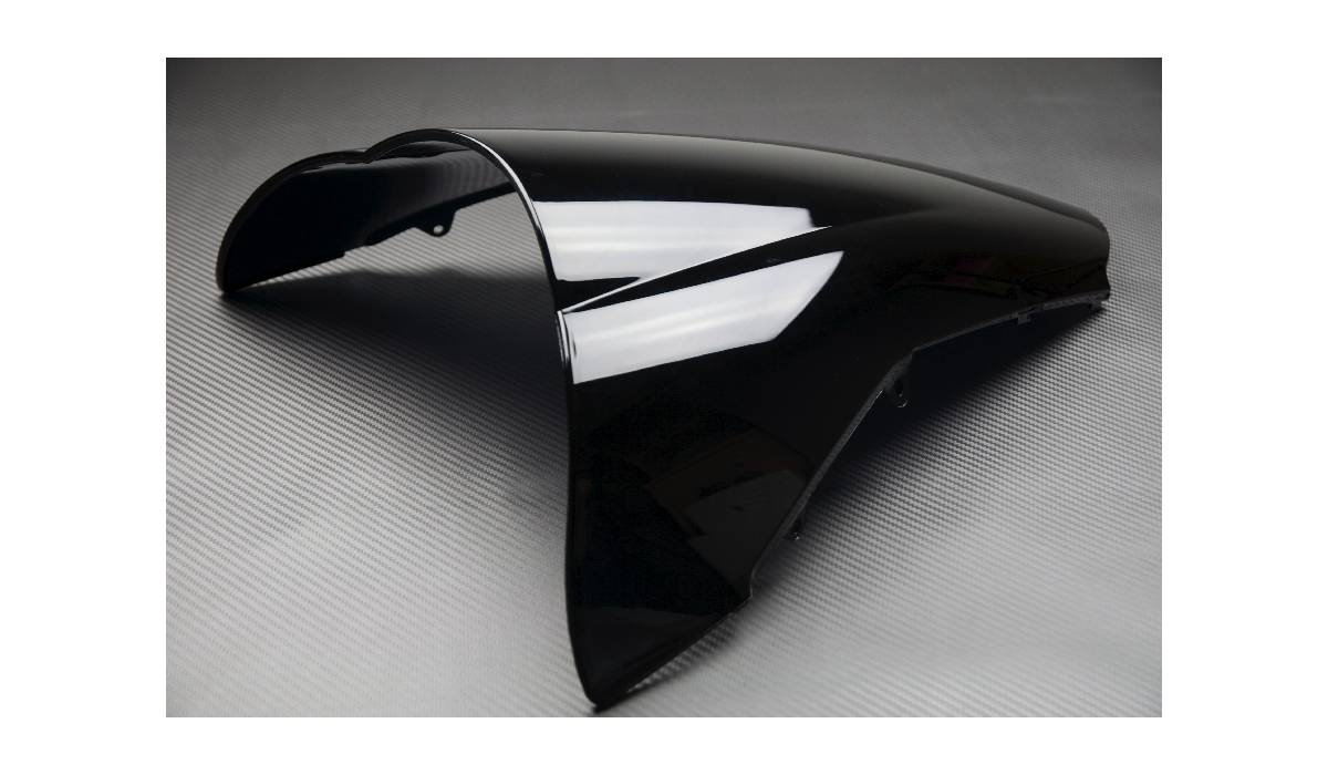 Bulle noire honda vfr 800 vtec 02 13 for Toit en polycarbonate transparent