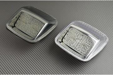 Luces de freno LED con intermitentes integrados para Harley Davidson DEUCE