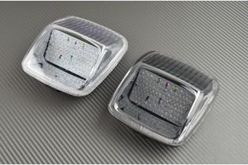 Luces de freno LED con intermitentes integrados para Harley Davidson VROD